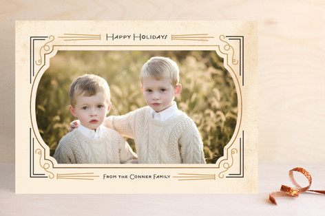 Foxtrot Frame Holiday Photo Cards