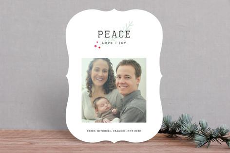 Frenchie Holiday Photo Cards