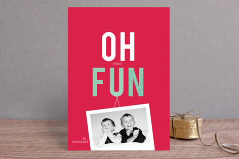 Jingle Brights Holiday Photo Cards