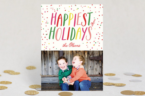 Happiest Holiday Photo Cards