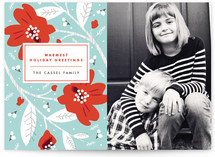 Modern Storybook Holiday Photo Cards