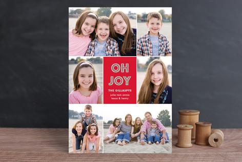 Joys of the Season Holiday Photo Cards