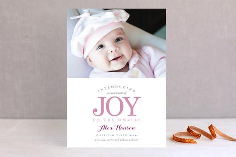 New Bundle of Joy Holiday Photo Cards