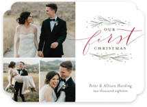 Our First Married Christmas