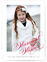 Warmest Holiday Wishes by Kimberly FitzSimons