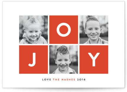 Vibrant Joy Holiday Photo Cards