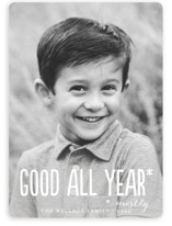 Good All Year Holiday Photo Cards