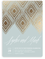 Gilded Ikat
