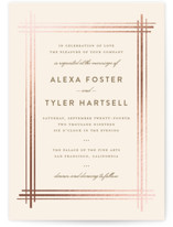 Grand Affair Foil-Pressed Wedding Invitations