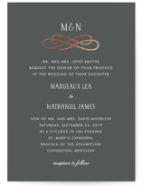 Timeless Foil-Pressed Wedding Invitations