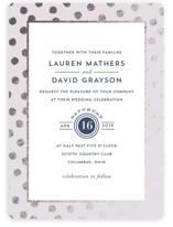 Devoted Foil-Pressed Wedding Invitations