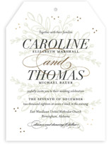 Graceful Foil-Pressed Wedding Invitations