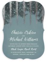 Strands Of Lights Foil-Pressed Wedding Invitations