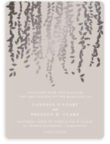 Cascade Foil-Pressed Wedding Invitations