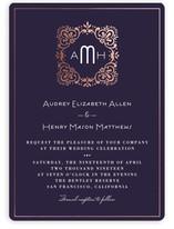 Eventide Foil-Pressed Wedding Invitations