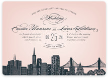 Big City - San Francisco Foil-Pressed Wedding Invitations