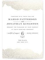 Majestic Foil-Pressed Wedding Invitations