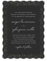 Glittered Wedding Frame