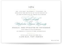 Charming Go Lightly Foil-Pressed Wedding Invitations