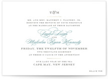 Charming Go Lightly Foil-Pressed Wedding Invitations