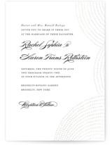 Bespeckle Gloss-Press™ Wedding Invitation