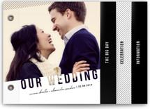 Simply See Through Wedding Invitation Minibook™ Cards