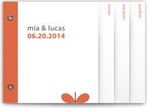Grow Wedding Invitation Minibook™ Cards