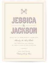 Rustic Keys Wedding Invitations