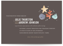 The Shore Wedding Invitations