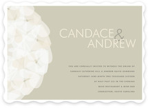 Modern Tulle Wedding Invitations