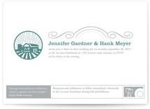 Iconic Barnyard Wedding Invitations