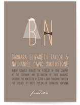 Formal Attire Wedding Invitations