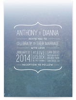 Dive In Wedding Invitations