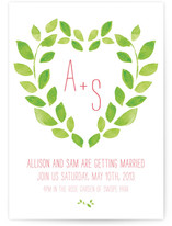 Sweet Garden Wedding Invitations