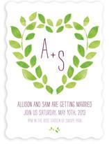 Sweet Garden Wedding Invitations