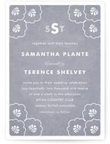 Clam Wedding Invitations