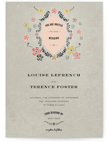 Vintage Romance Wedding Invitations