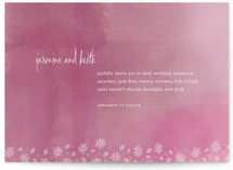 Liberty Floral Wedding Invitations