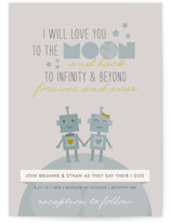 Infinity & Beyond Wedding Invitations