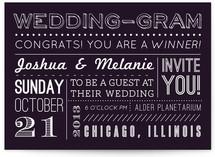 WeddingGram Wedding Invitations