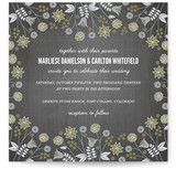 Serendipity Floral Wedding Invitations