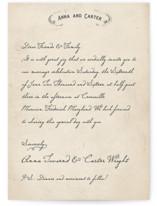 Vintage Letter