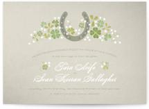 Lucky Horseshoe Wedding Invitations