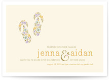 What A Pair Wedding Invitations