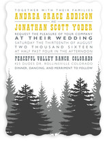Enchanted Forest Wedding Invitations