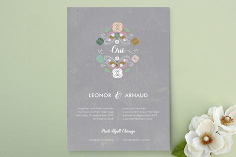 Bagatelle Wedding Invitations