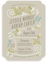 Delicate Blooms Wedding Invitations