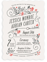 Delicate Blooms Wedding Invitations