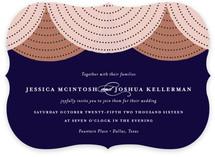 draped Wedding Invitations