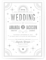 Golden Glitz Wedding Invitations